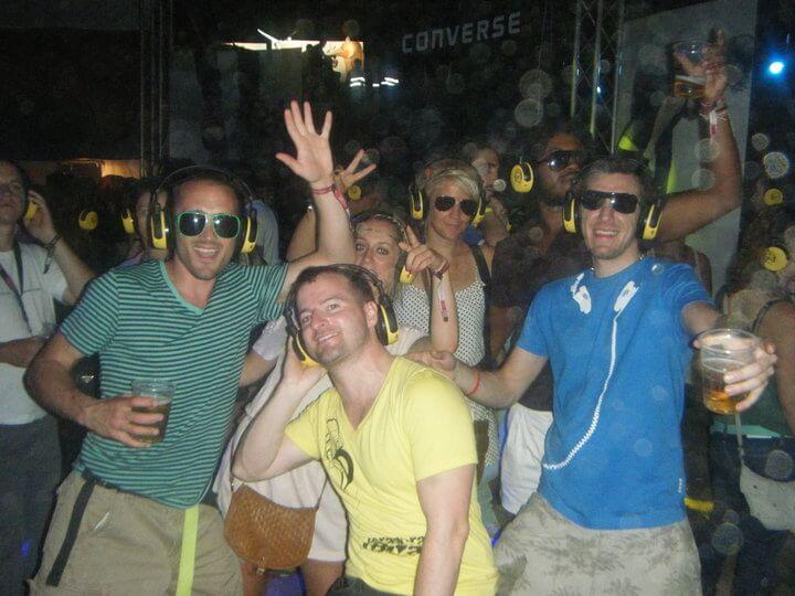 Group of friends Belgrade