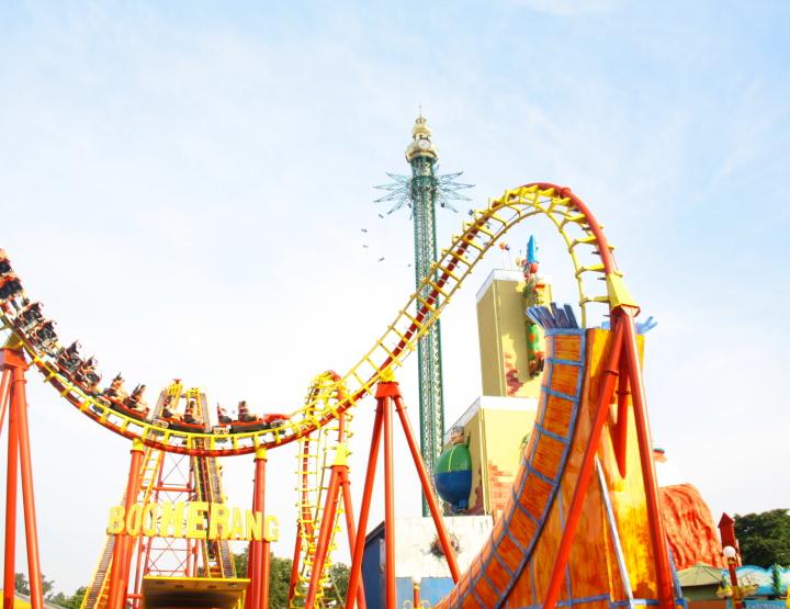 Exploring the Prater Amusement Park in Vienna