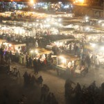 Exploring the Jemaa El-Fna Markets in Marrakech