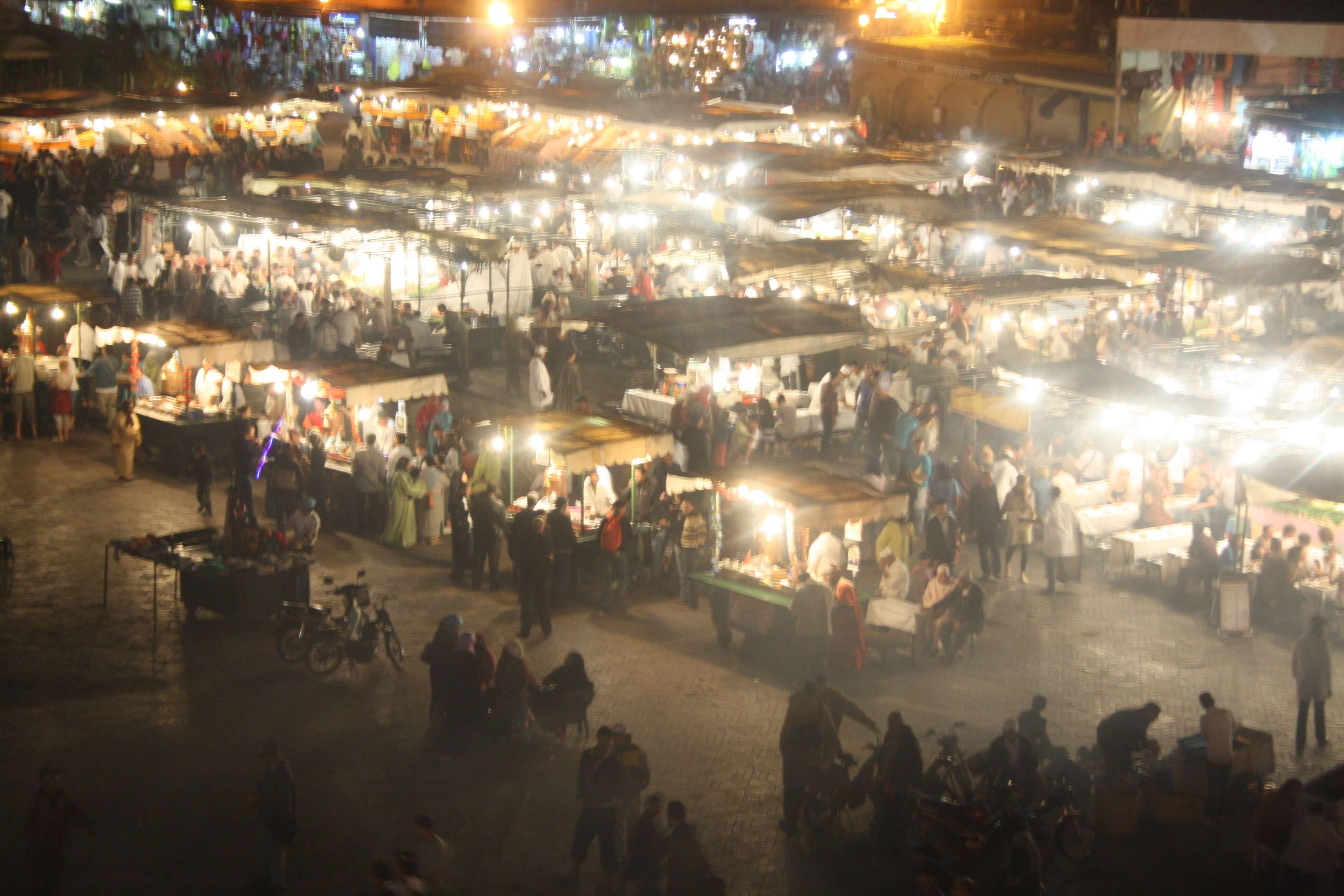 The Night Markets in Marrakech