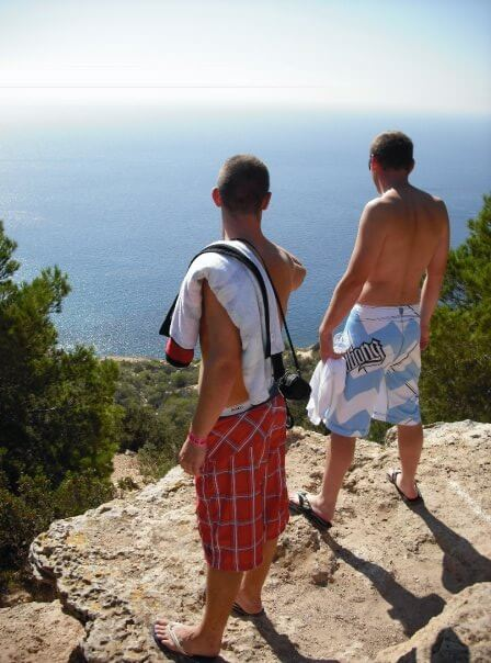 At the top of Atlantis in Ibiza