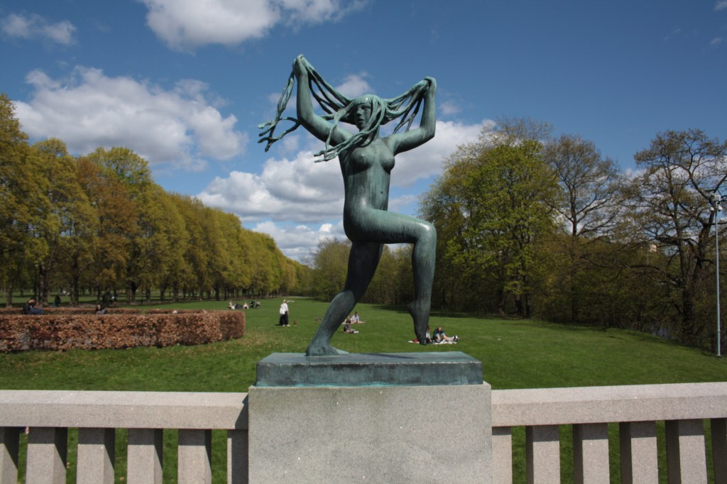 Vigeland Amusement Park in Oslo