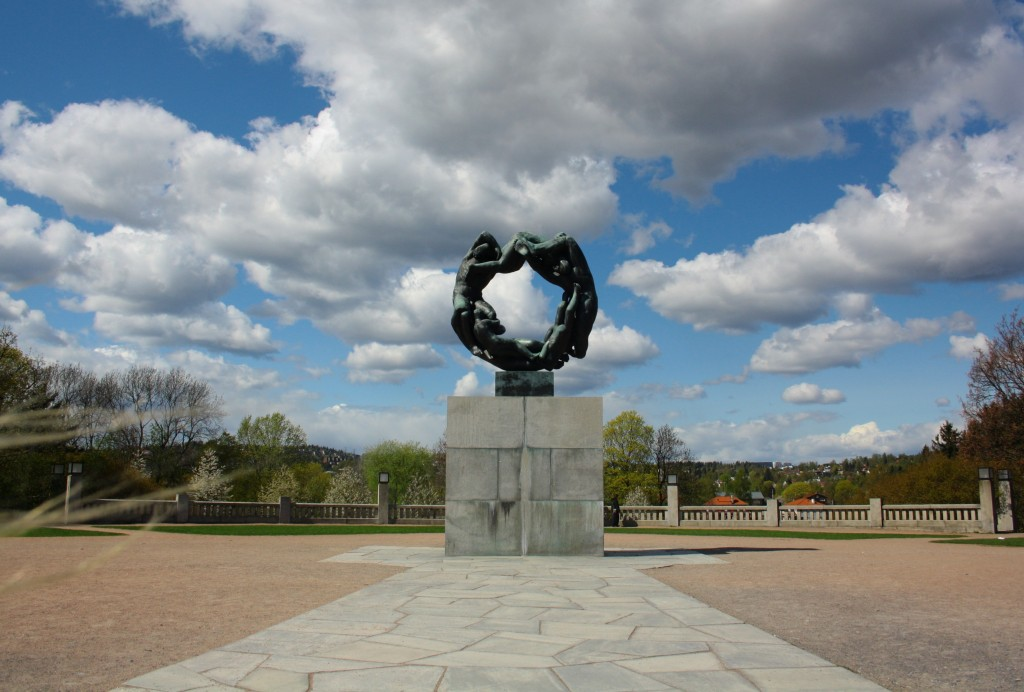 Amazing Vigeland Amusement Park in Oslo