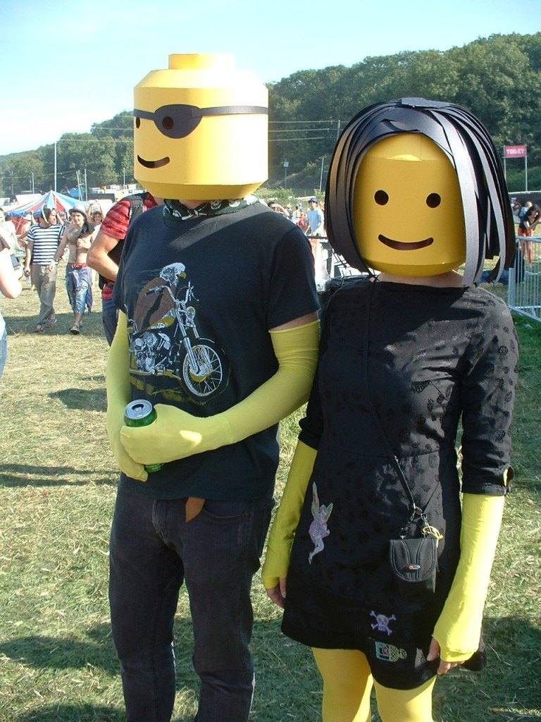 Fancy dress at Bestival