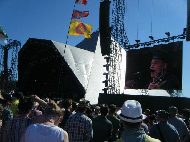 Amazing Glastonbury festival