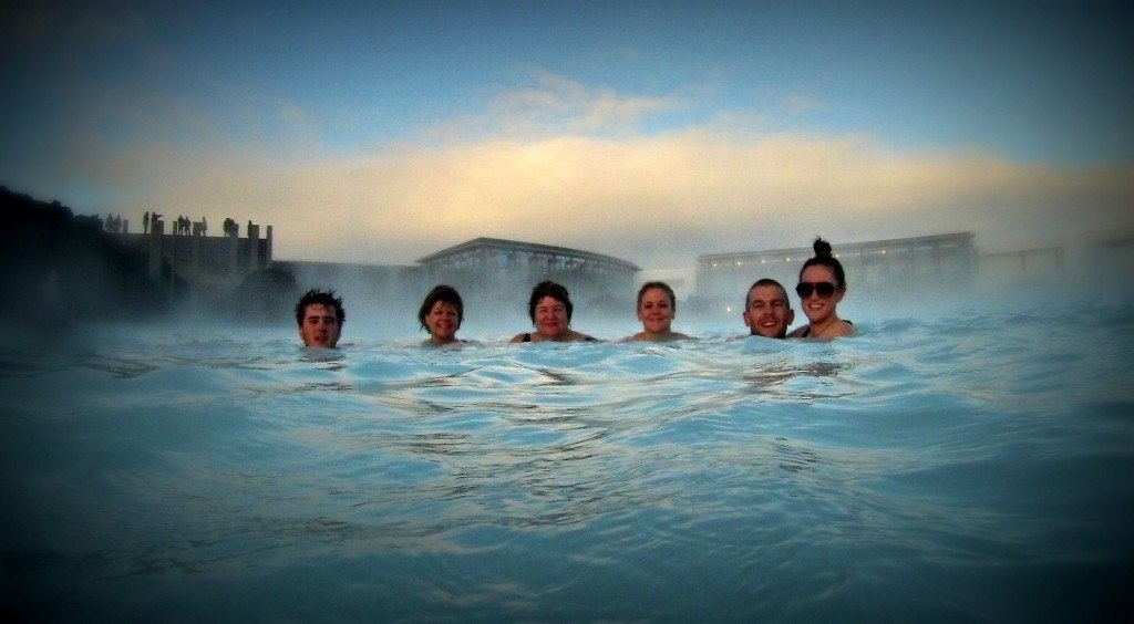 Fun family times at the blue lagoon