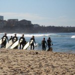 Learning to Surf on Bondi Beach in Australia