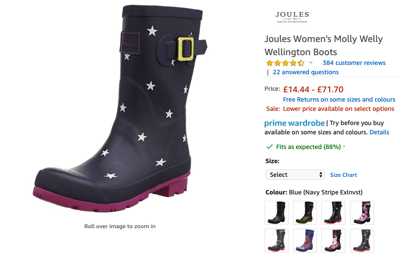 Cool wellies for glastonbury