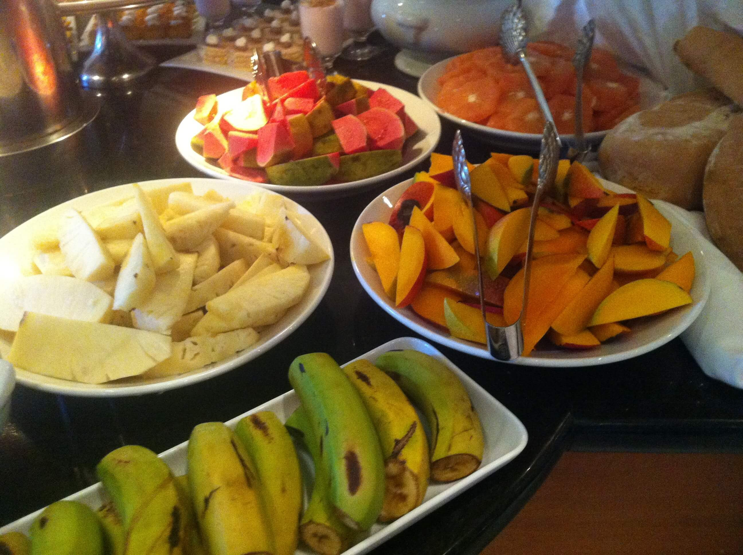 Fruity breakfast at Parque Central