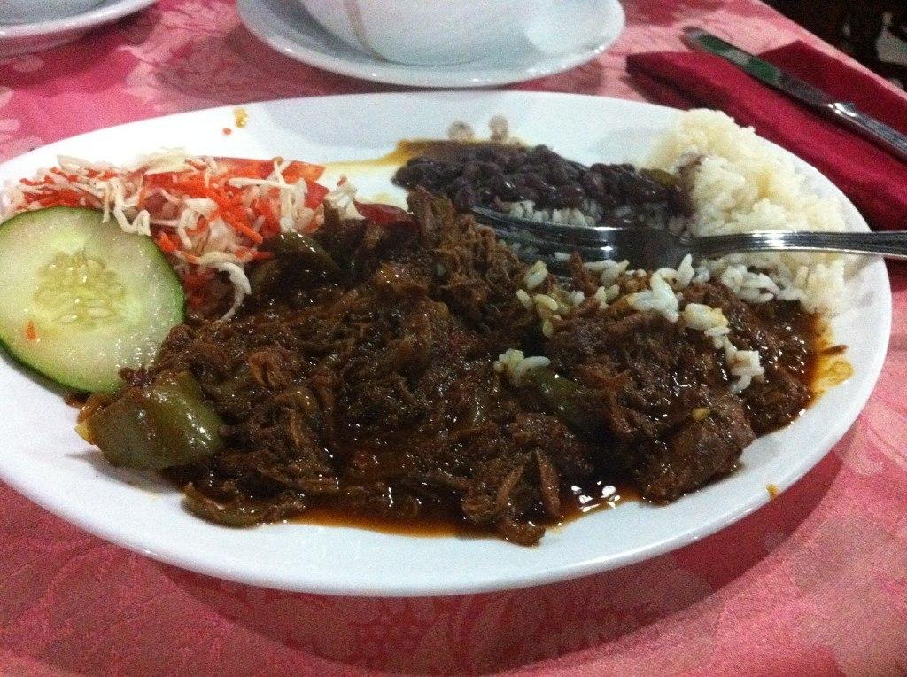 Food at the Nacional