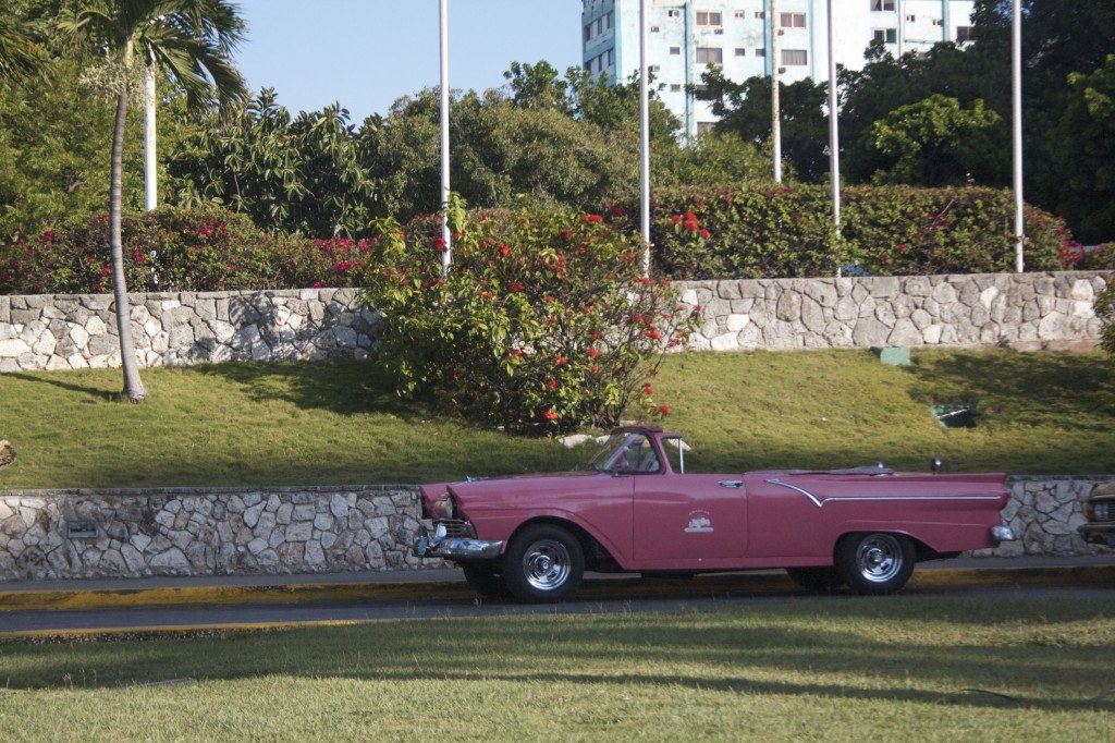 awesome cars in cuba