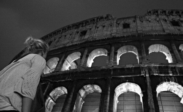 Beautiful Rome in Black and White