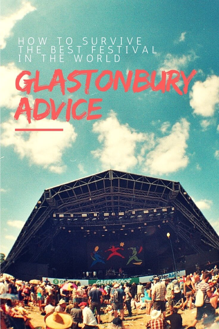 Advice for Glastonbury