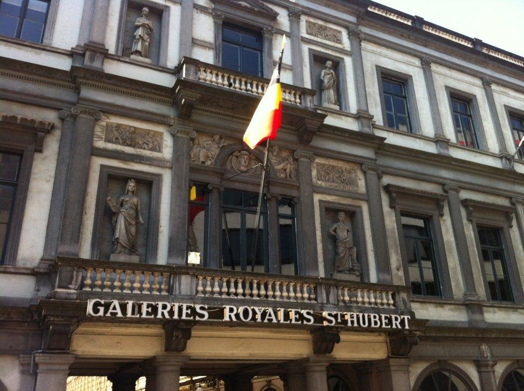 Shops in Brussels