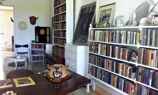 Visiting Hemingway's House in Cuba