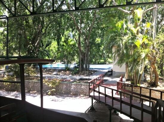 Hemingways House view