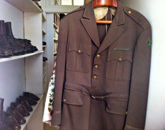 Hemingway's wardrobe in his house