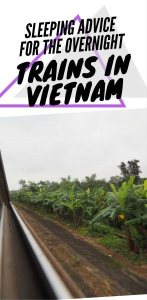 Trains in Vietnam overnight