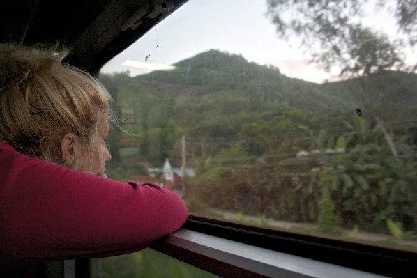 Overnight train in Vietnam