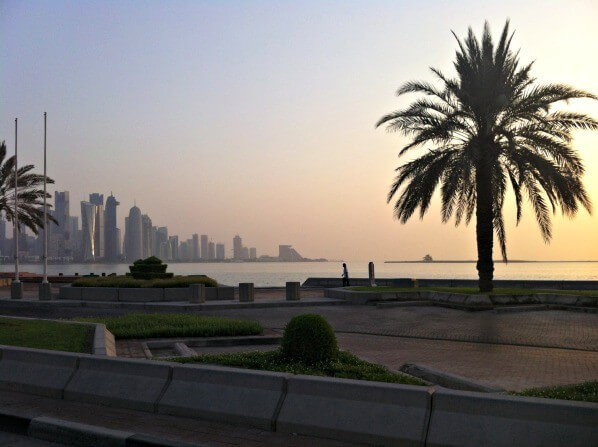 9 hours in doha