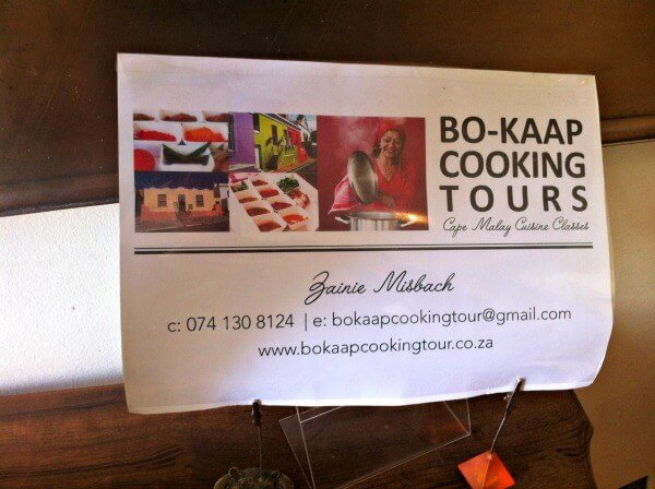BoKaap Cooking Tours