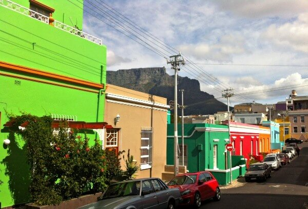 Bo Kaap in Cape Town