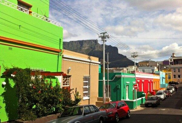 Bo Kaap in Cape Town
