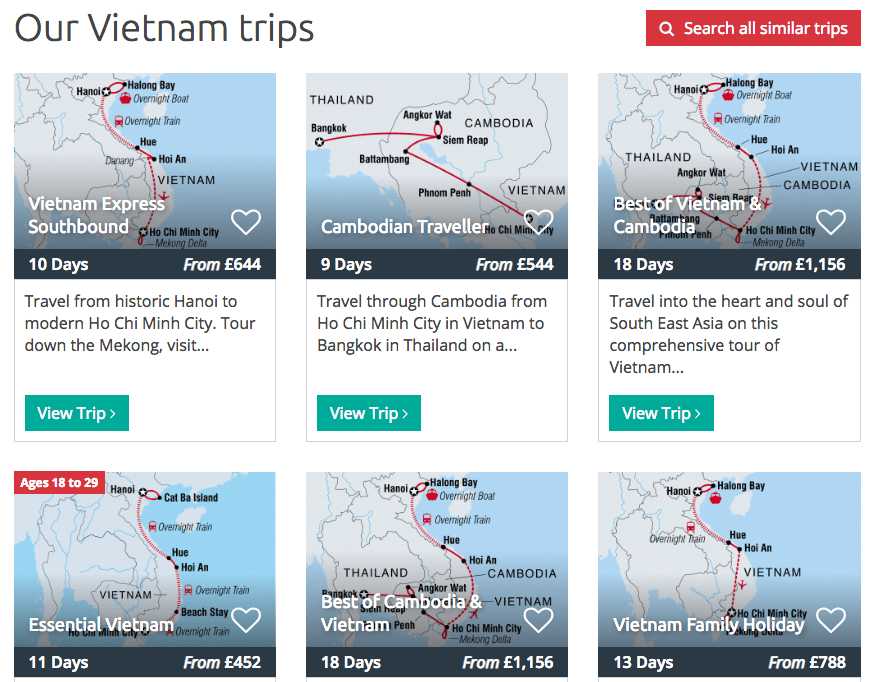 Intrepid Tours Vietnam trips