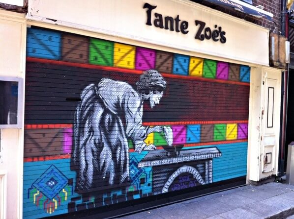 Epic street art in Dublin