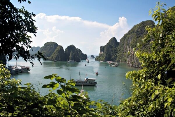 Beautiful Halong Bay