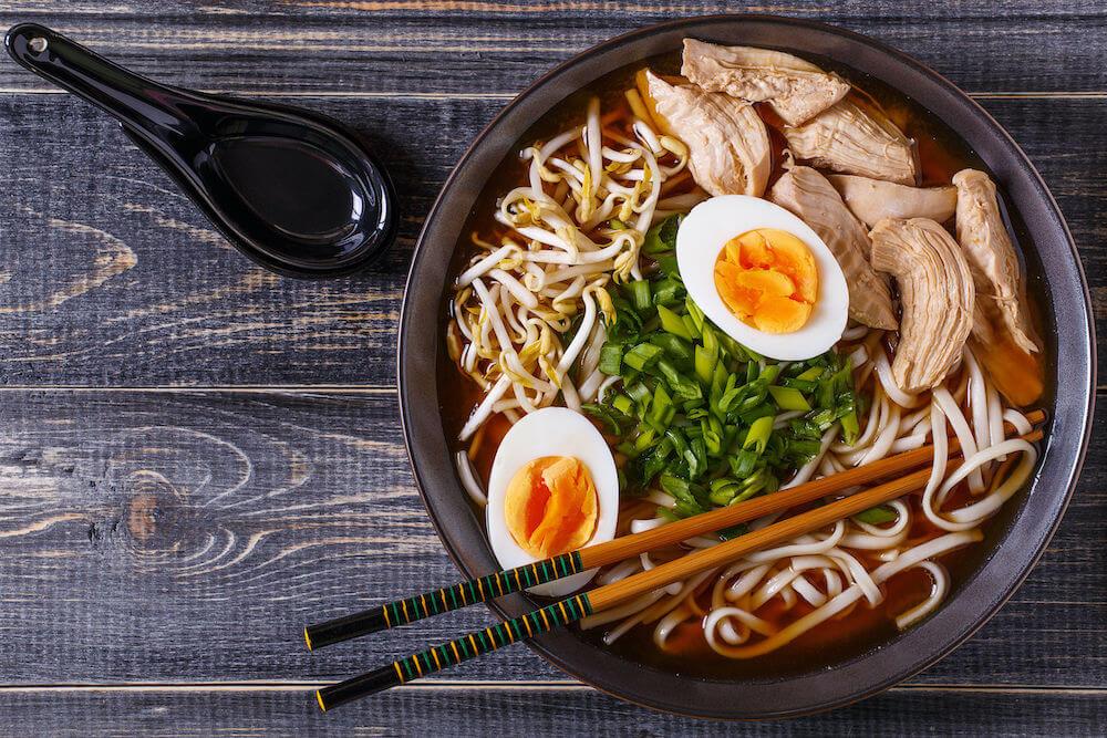 Ramen food in japan