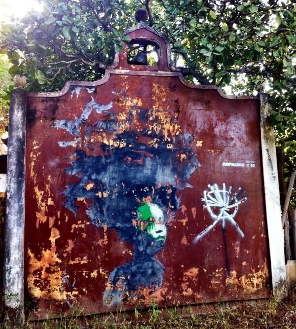 Street art in Gambia
