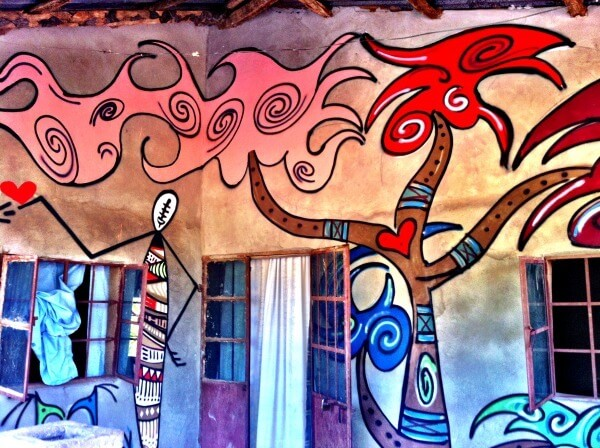 Street art in Gambia