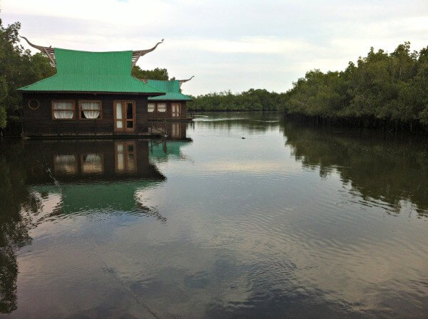 Accommodation in Makasutu Forest