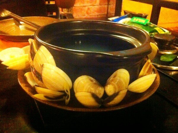 Mussel soup in Vietnam