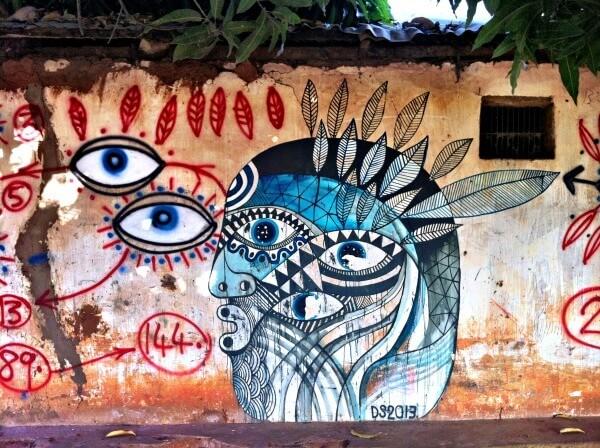 Street Art in Kubuneh, Gambia