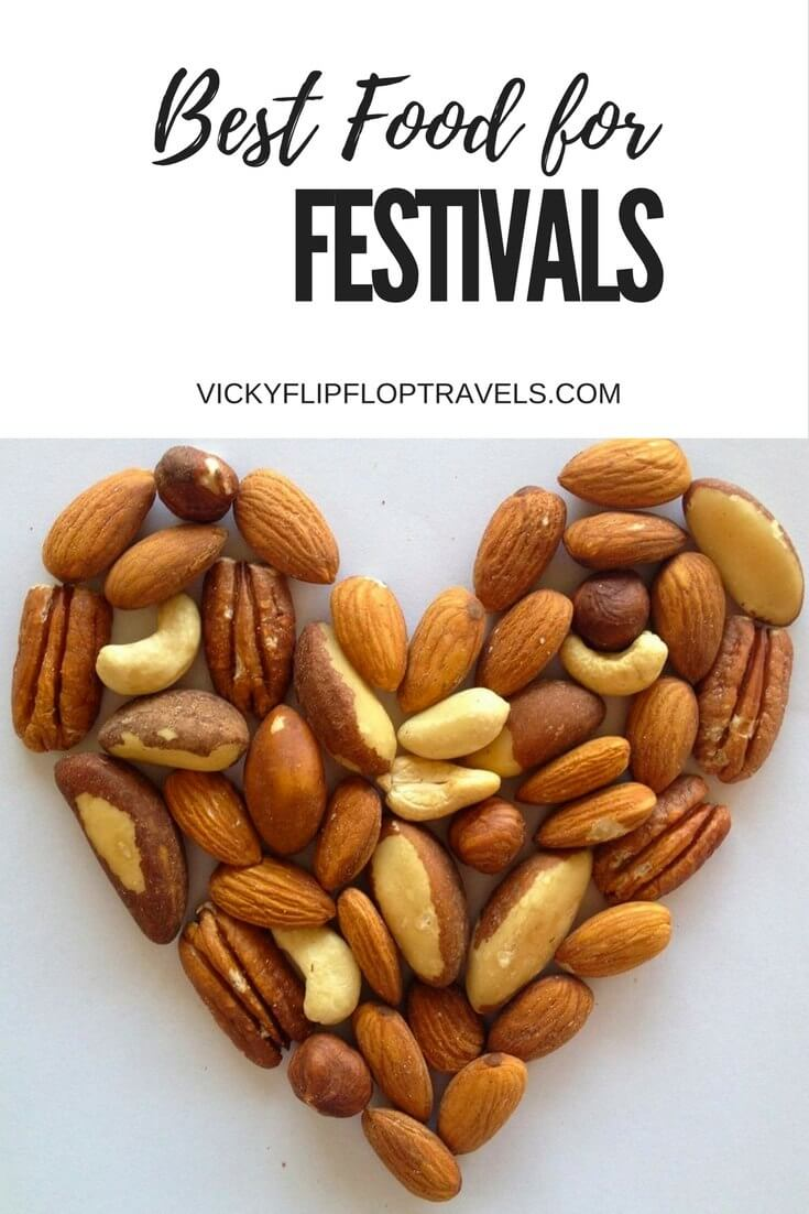 What food to take to festivals