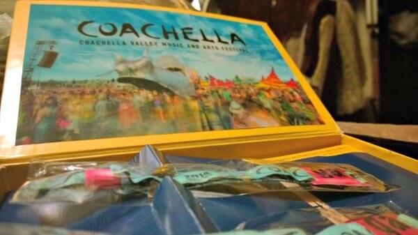 What's in the Coachella Wristband box?