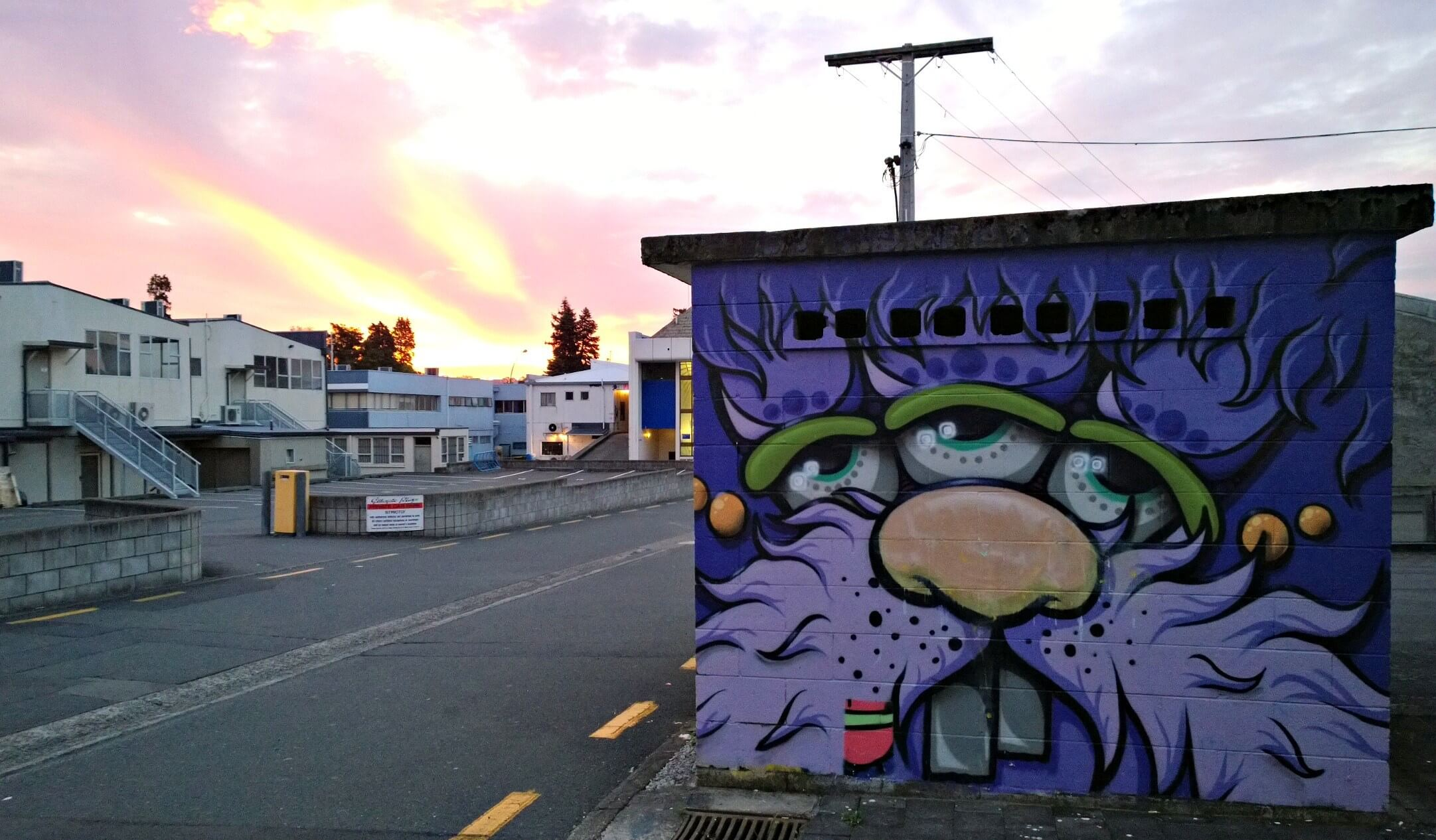 Street Art in Taupo