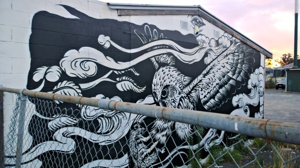 Not Just Skydiving Central, Taupo Has Some Pretty Cool Street Art Too