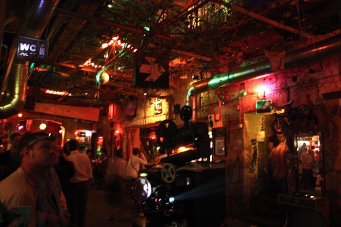 The 'Ruin Pubs' of Budapest