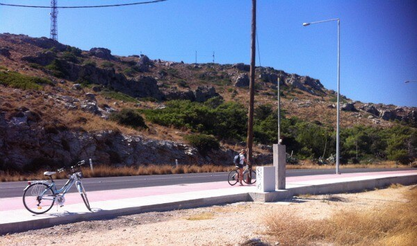 Cycle trip in Rhodes