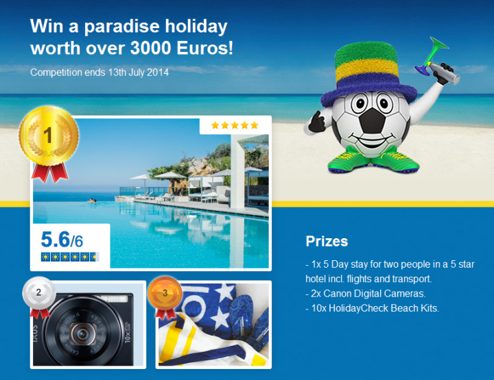 Win a Luxury Holiday and a Canon Ixus 155 Digital Camera!