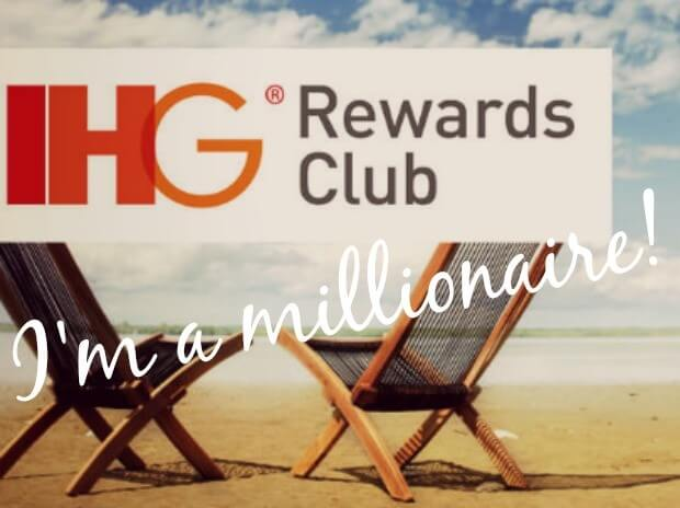 I'm an IHG Points Millionaire! Time for a Little Bit of Luxury