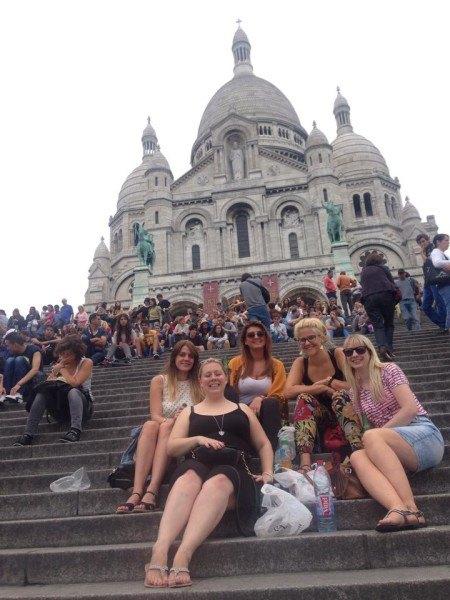 At the Sacre Couer