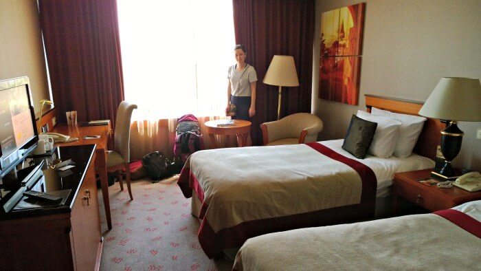 First room at the Intercontinental Nudapest