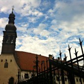 gated church in bratislava