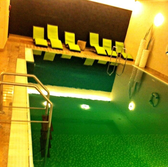 Spa at the intercontinental Budapest