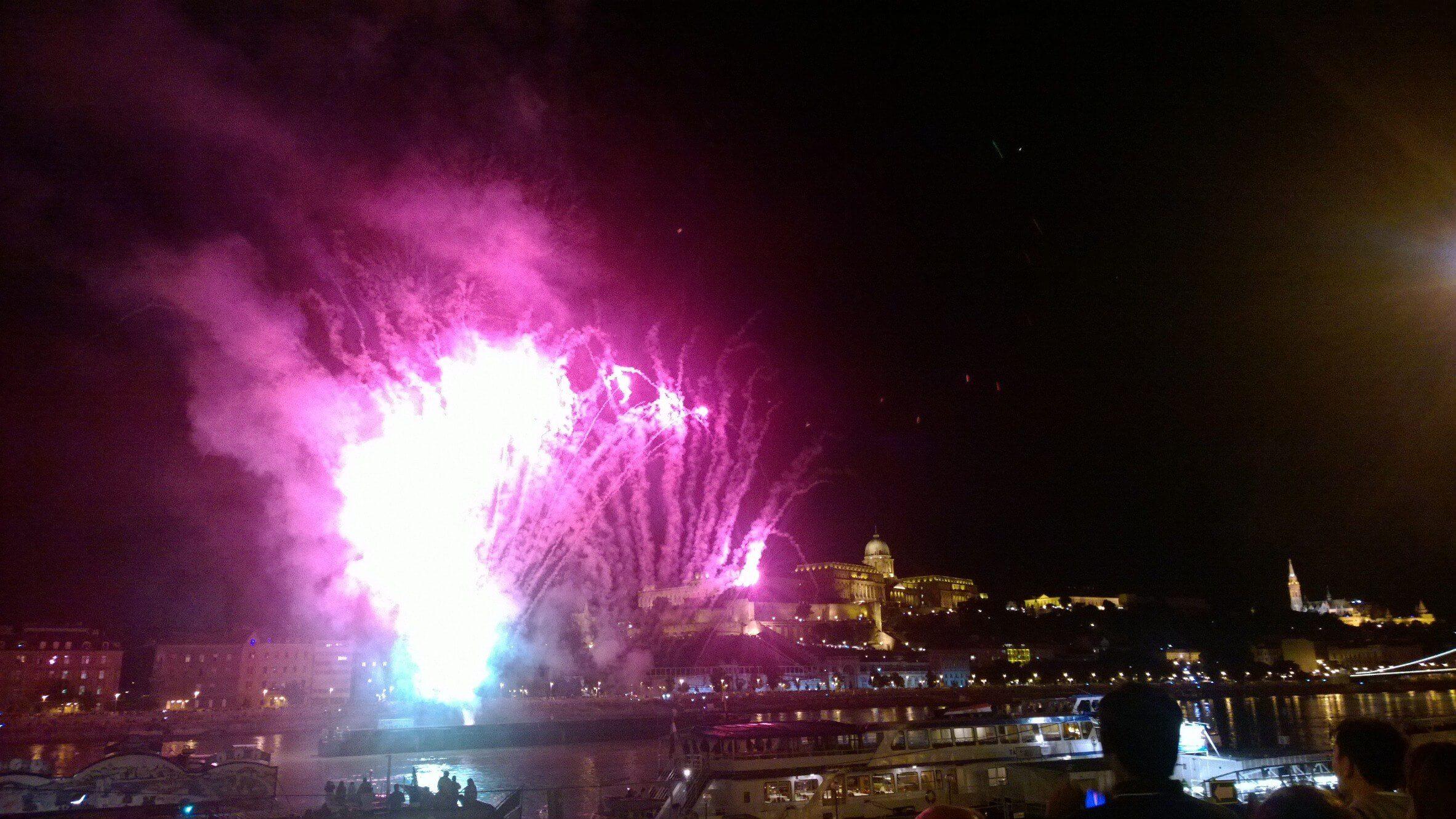 St Stephens Day Budapest