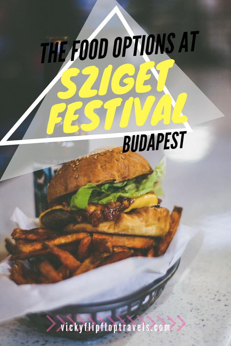 Sziget Festival food